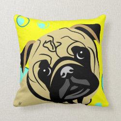 pug lover cushions