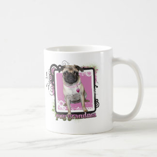 Pug Grandma Classic White Coffee Mug