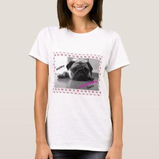 Pug Happy Valentine's Day T-Shirt