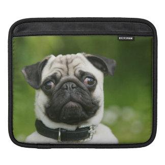 Pug headshot sleeve for iPads