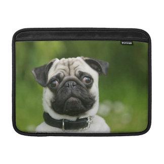 Pug headshot sleeve for MacBook air