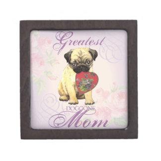 Pug Heart Mom Premium Gift Box
