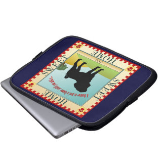 Pug Home Laptop Computer Sleeve