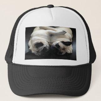 Pug Hugs Trucker Hat