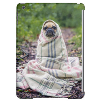 Pug in a Blanket Case For iPad Air