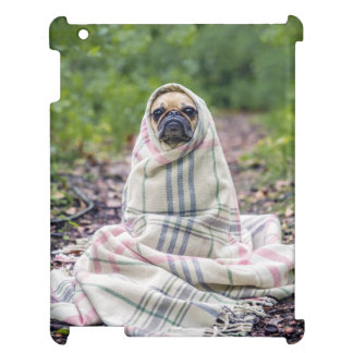 Pug in a Blanket iPad Case
