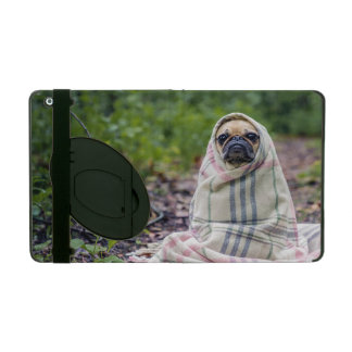 Pug in a Blanket iPad Cover