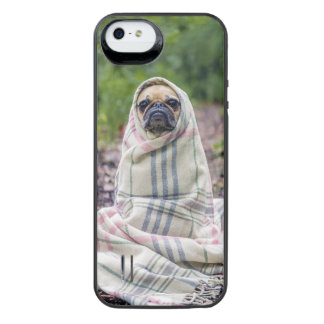 Pug in a Blanket iPhone SE/5/5s Battery Case
