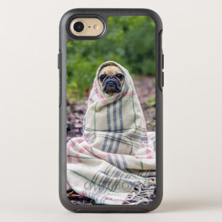 Pug in a Blanket OtterBox Symmetry iPhone 8/7 Case