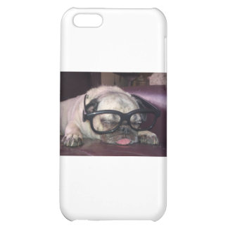 Pug In Glasses Cover For iPhone 5C