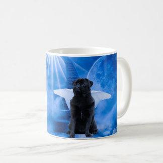 Pug in Heaven as Angel Sympathy Coffee Mug