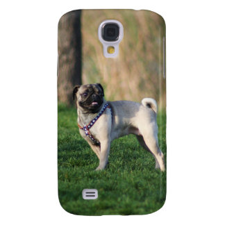 Pug in the park iPhone 3G/3GSSpeck Case Samsung Galaxy S4 Covers