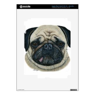 Pug iPad 3 Decals