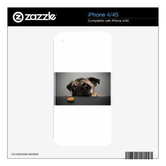 Pug iPhone 4S Decals