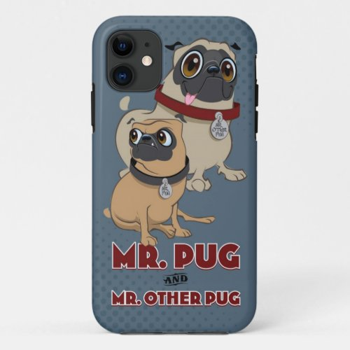 Pug iPhone cover Phone Case