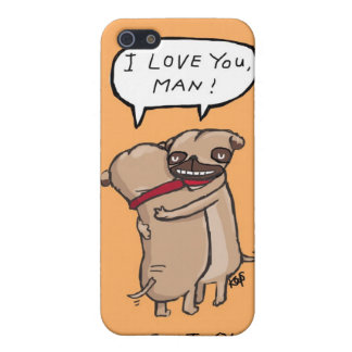 Pug It Out iPhone 5/5S Cover