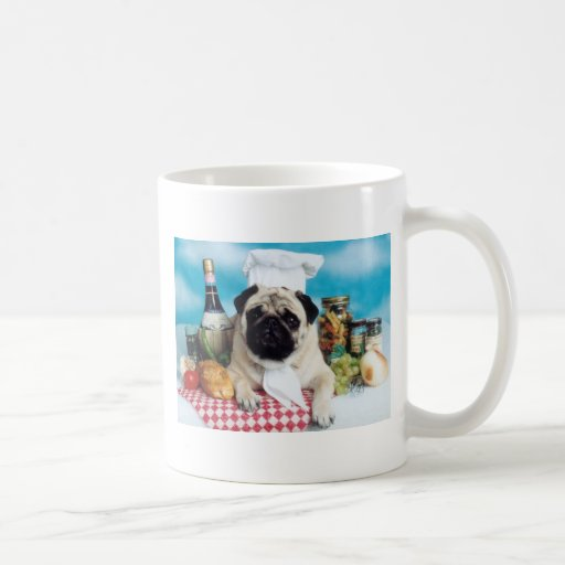 Pug Italian Chef Mug
