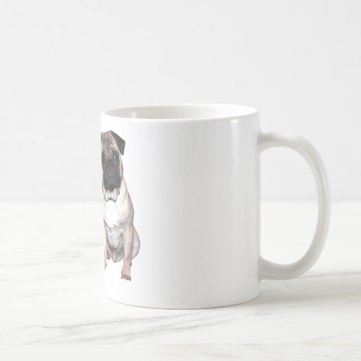 Pug Jack and Richi Mugs