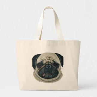 Pug Jumbo Tote Bag