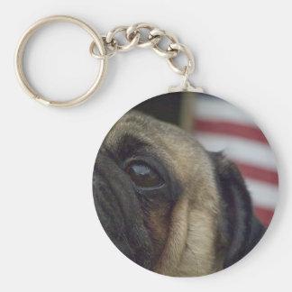 Pug Key Chain # 4