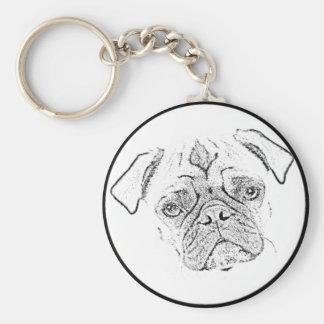 """""""Pug"""" Key Chains"""