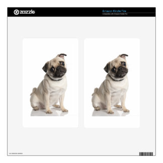 Pug Kindle Fire Decals