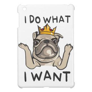 PUG KING Villi iPad Mini Case