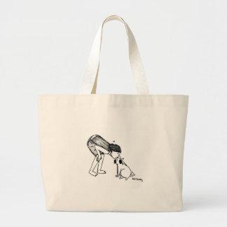 Pug Kisses Canvas Bags