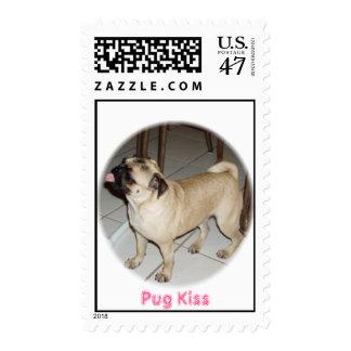Pug Kisses  Postage