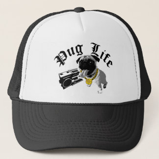 Pug Life $17.95 (11 colors) Trucker Hat