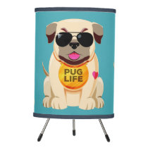 Pug Life custom color lamps & shades