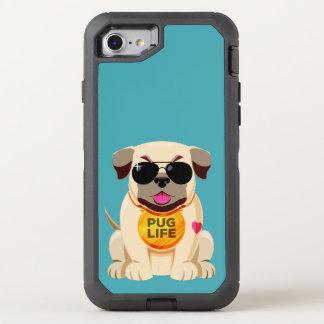 Pug Life custom color phone cases