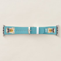 Pug Life custom monogram watch bands
