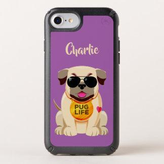 Pug Life custom name & color phone cases