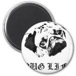 Pug Life Fridge Magnets
