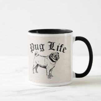 Pug Life Funny Dog Gangster Mug