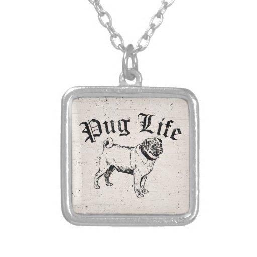 Pug Life Funny Dog Gangster Custom Jewelry