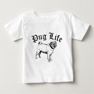 Pug Life Funny Dog Gangster Tee Shirt