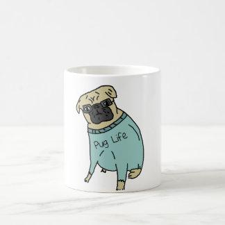 Pug Life - Funny Dog In A Sweater Coffee Mug