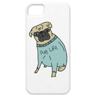 Pug Life - Funny Dog In A Sweater iPhone SE/5/5s Case