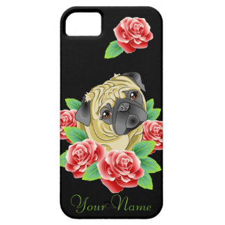 Pug Life I Love My Dog Personalized case