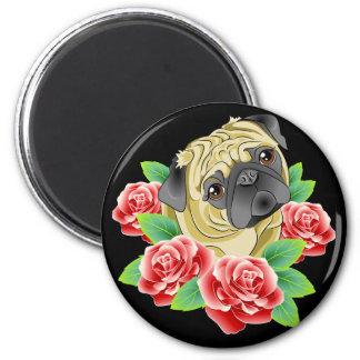 Pug Life I Love My Put dog lover's magnet