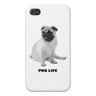 Pug Life iPhone 4 Cover