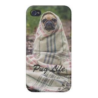 Pug LIFE iPhone 4 Funda