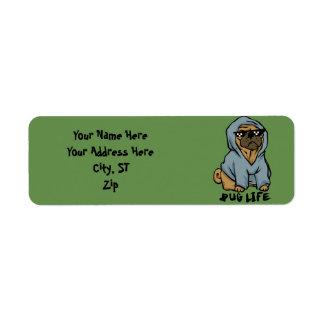 Pug life label