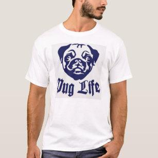 96b38947b Pug Quotes T-Shirts - T-Shirt Design & Printing   Zazzle
