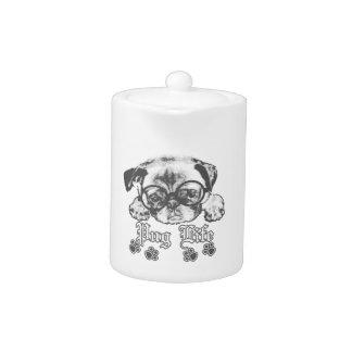 Pug Life Teapot