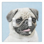 Pug Light Switch Cover