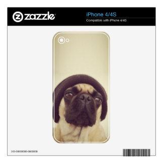 Pug Lola iPhone 4 Skin