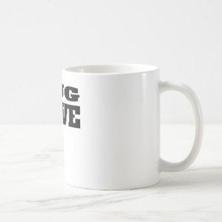 Pug Love Classic White Coffee Mug